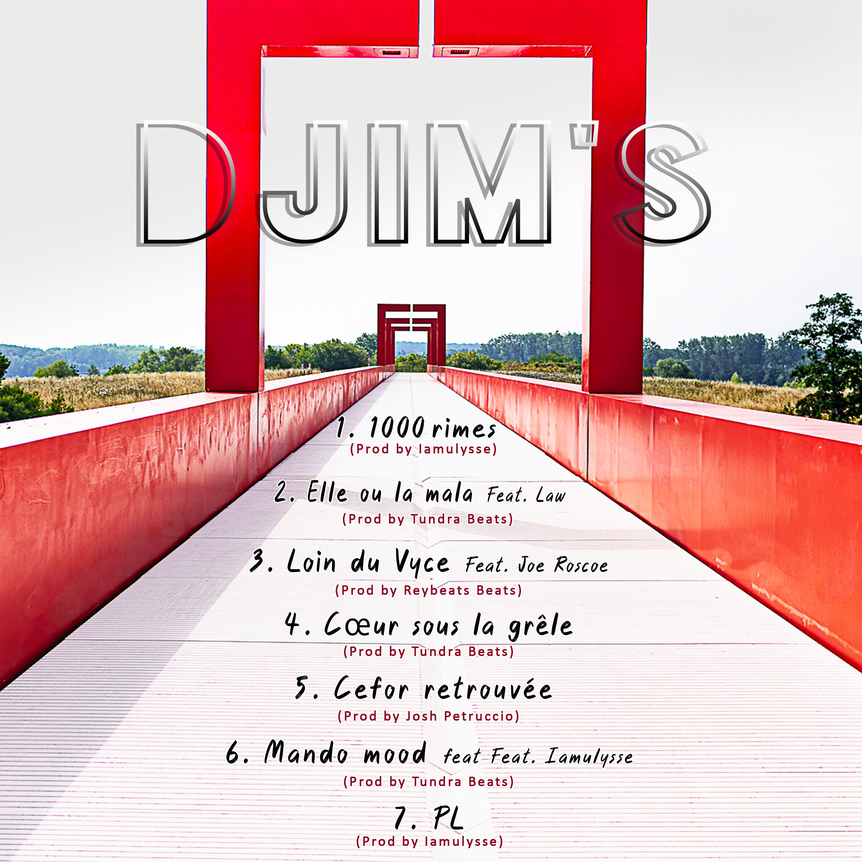 Pochette d'album digitale et tracklist animée