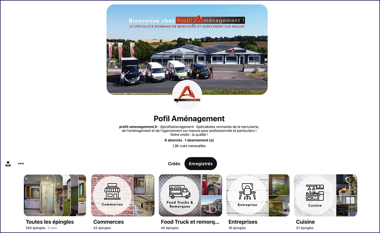 Community Management Profil Aménagement